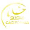 MAIN LOGO - HOME PAGE SUSHI CALIFORNIA (gold version)